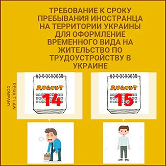 срок законного пребывания иностранца на территории Украины